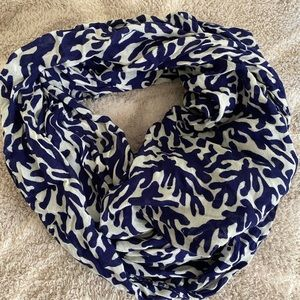 Lilly Pulitzer Navy Infinity Scarf